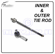 Jaguar X Type 01- Inner & Outer Tie Rod End Steering Track Rod