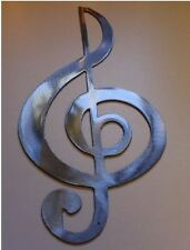 TrebleClef --Silver Musical Note Music Metal Wall Art Decor
