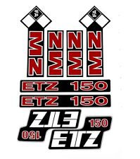MZ ETZ 150 STICKER SET