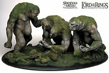 SIDESHOW WETA Lord of the Rings STONE TROLLS  Herr der Ringe SEIGNEUR New OVP