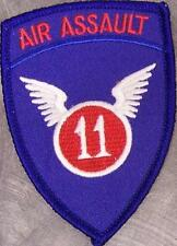 Embroidered Military Patch Airborne 11th Air Assault NEW