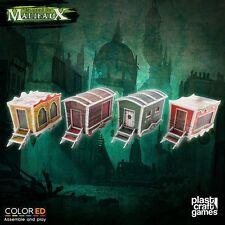 Plast Craft Games Colored Malifaux Circus Wagon set box new