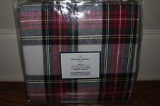 NWT Williams Sonoma Home Tartan Stewart Plaid FQ duvet cover full queen f/q