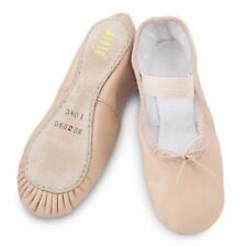 Bloch 209 Arise Full Sole Pink Leather Ballet Dance Shoes SIZE 13