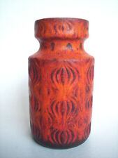 Keramik Vase Scheurich Onion 285-15 pottery West-Germany Fat Lava Era Vintage