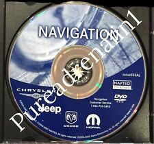 03 2004 2005 2006 2007 DODGE CARAVAN SPORT SXT RB1 NAVIGATION MAP CD DVD 033AL