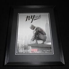 NY Ink 2011 Framed ORIGINAL Vintage 11x14 Advertisement Ami James