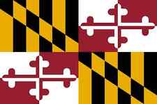 DRAPEAU DU MARYLAND - ETAT AMERICAIN-150 X 90 CM- NEUF-DECORATION USA