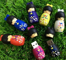 1pcs 8GB Cartoon Japanese girl model USB 2.0 flash memory stick pen thumb drive