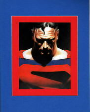 SUPERMAN KINDGOM COME PRINT PROFESSIONALLY MATTED Alex Ross
