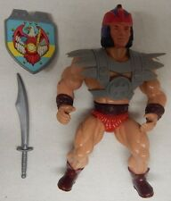 Sunco/Sewco Galaxy Fighter/Warriors MAGNON (Red Helm) - (MOTU KO / Size) Figure
