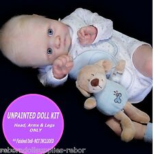 "REBORN KIT ~ Soft Vinyl doll kit to make your own baby~ Cooper kit~ 22"" baby kit"