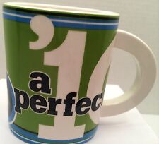 A PERFECT 10 COFFEE MUG HALLMARK