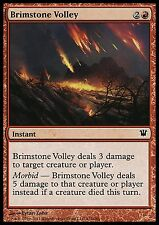 Brimstone Volley EX/NM Innistrad MTG Magic Cards Red Common