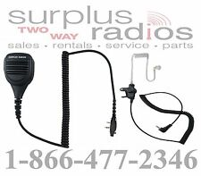 SPEAKER MIC & EARPIECE FOR ICOM RADIOS F4101D F3101D F3021T F4021T F3011 F4011