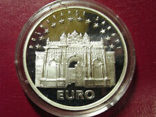 1998 Turkey Large Silver Proof 3000000 lira -Euro-Dolmabahce Sarayi Palace