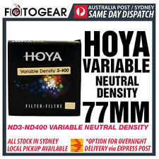 Genuine HOYA Variable ND3-400 Neutral Density ND ND400 NDx400 77MM EXPRESS POST
