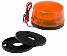 Xenon Strobo, Leuchte Blinkleuchte  Blitzleuchte   Blitzlampe 12-24V in orange