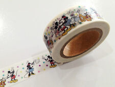 1PC Japanese Washi Tape Craft Sticker, Mickey & Minnie Mouse Disney 10METRE