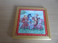 Winnie the Pooh and friends wall tile/plaque