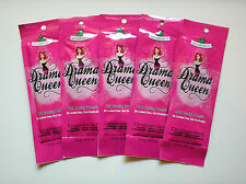 5 Designer Skin DRAMA QUEEN Indoor Tanning Lotion Accelerator Packets