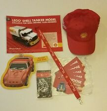 Shell V-Power Hat Cap Lanyard LEGO Promo FERRARI 250 GTO Advertising Gas Oil
