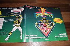 POWER RANGERS Magic Collection  # 1 -- SAMMLE ALLE KARTEN // ALBUM von EDIGAMMA