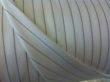 Cream 100% Cotton striped Apron/Shirt Fabric. Price per metre!