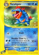 Expedition E-Set Pokemon rare card Feraligatr 46/165