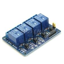 DC 12V 4-Channel Relay Module Optocoupler For Arduino PIC ARM AVR DSP HD23L MO