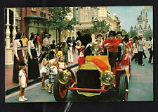 "Disney World's ""Riding Down Main Street USA"" Turn of CenturyChugging Fire Engine"