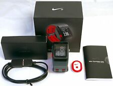 Nike+ Plus Foot Pod Sensor GPS Sport Watch Anthracite/Red TomTom fitness runner