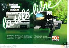 Publicité advertising 1982 (2 pages) Hi Fi Video Platine JVC