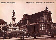 B44469 Varsovie Monument de Mickiewicz  poland