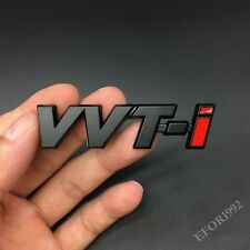 Metal VVTi Emblem Car Badge Decal Sticker For Toyota TRD Yaris Corolla FT86 JDM