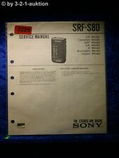 Sony Service Manual SRF S80 (#2229)