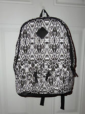 Black and White Aztec Print Backpack Clarie's New
