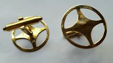 14k yellow solid gold Cufflinks