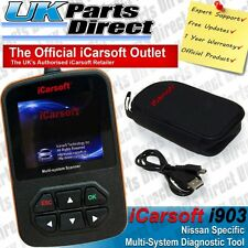 Nissan ABS Diagnostic Scan Tool & Reset Fault Code Reader - iCarsoft i903