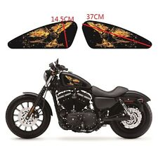 Frame Eagle Fuel Tank Decals Emblem Badges Set Stickers For Harley