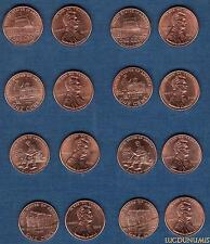 Etats Unis – Lot de 8 One Cent 2009  Différentes – USA United States