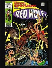Marvel Spotlight #1 ~ Feat. Red Wolf / Origin ~ (8.0) WH