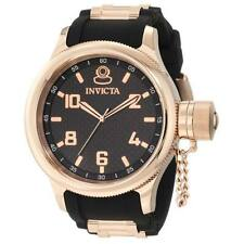 New Men's Invicta 1972 Russian Diver Black Dial Rose Gold Tone Watch