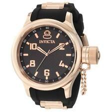 New Men's Invicta 1972 Russian Diver Black Dial Rose Gold Tone Watch