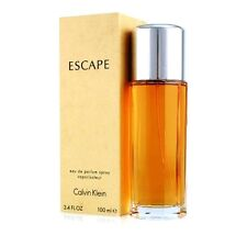 Escape by Calvin Klein For Women Edp Spray 3.3oz 100ml *New in Box* Free Sample