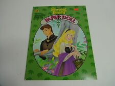 Vintage - Uncut Paper Doll Cut Out Dolls Book - 1994 Sleeping Beauty Disney