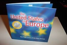 (12) First Coins of New Europe EURO & CENT 2002 in Display Folder United States