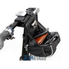 Bicycle Bike Cycling Front Frame Basket Handlebar Bag Tube Pouch +Rain Cover