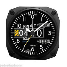 "New TRINTEC ALTIMETER Alarm Clock Aviator Altitude Portable for Travel 3.5"" DM20"