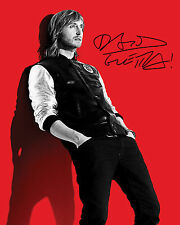 DAVID GUETTA - 10X8 PRE PRINTED LAB QUALITY PHOTO PRINT